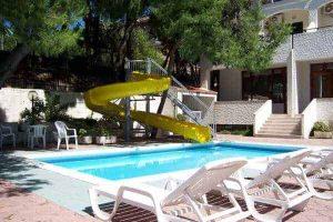 piscina per bambini mediterraneo vieste