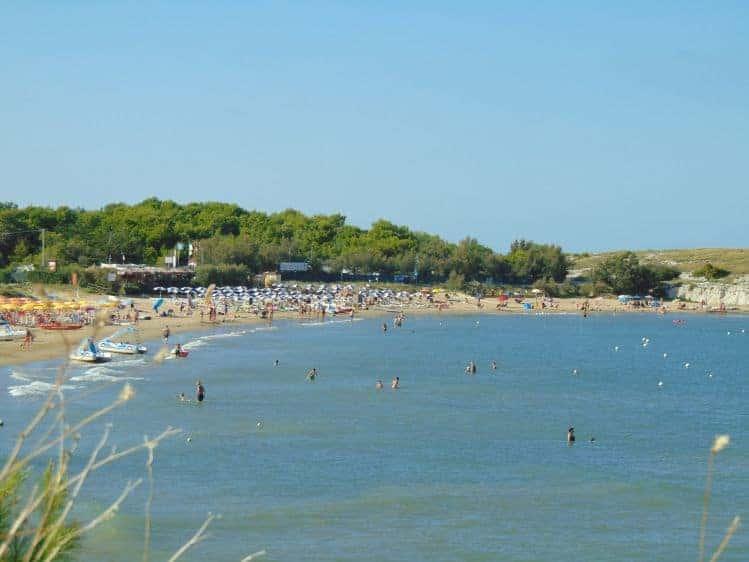 Spiaggia Molinella Vieste, Spiaggia in Sabbia sul Gargano