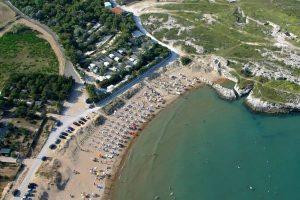 Spiaggia di Molinella a Vieste