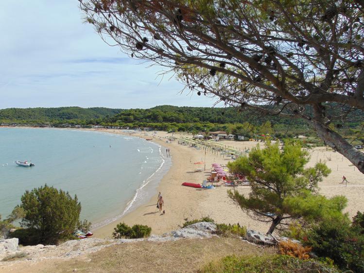 Spiaggia Sfinale Sfinalicchio Vieste Peschici