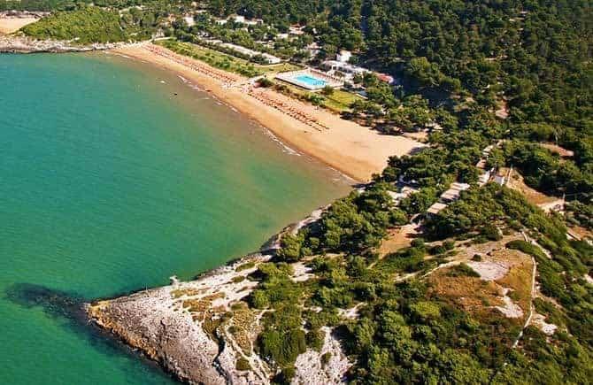 Spiaggia Crovatico Vieste Gargano