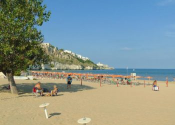 Spiaggia Pizzomunno Vieste Gargano